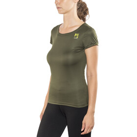 Karpos Loma - Camiseta Running Mujer - Oliva